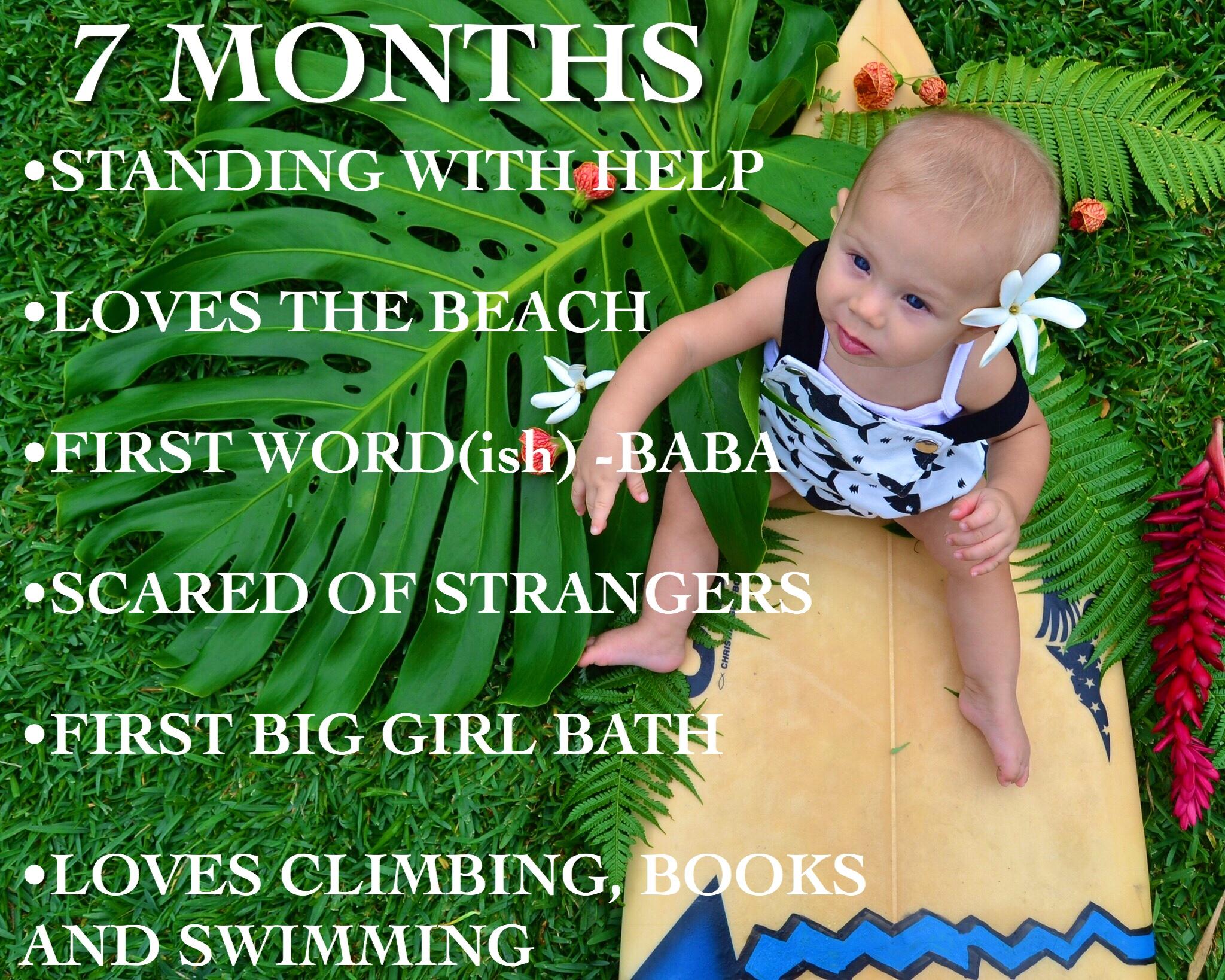 Baby Milestones 7 MONTHS OLD